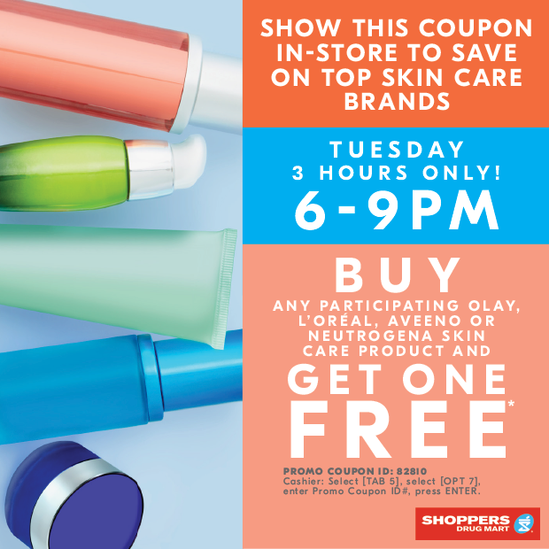 SHOPPERS DRUG MART CANADA COUPON: Today only! Buy Any* Olay