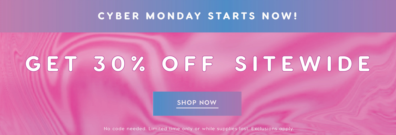 Colourpop Cosmetics Canada Cyber Monday 30 Off Sitewide 2018 Canadian Deals