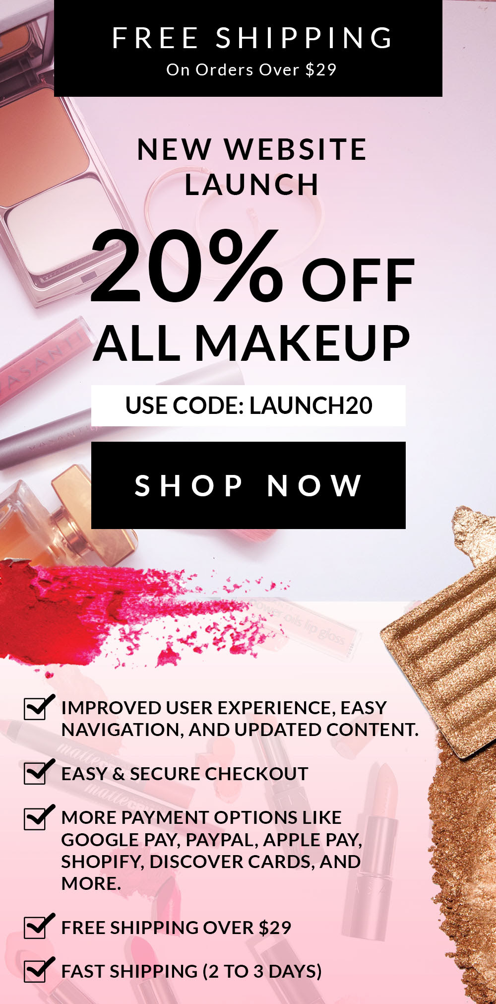 Cheap Makeup Websites Free Shipping