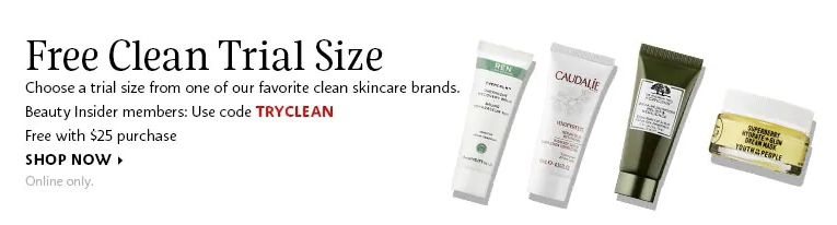 Sephora Canada Promo Code Free Clean Skincare Deluxe Sample
