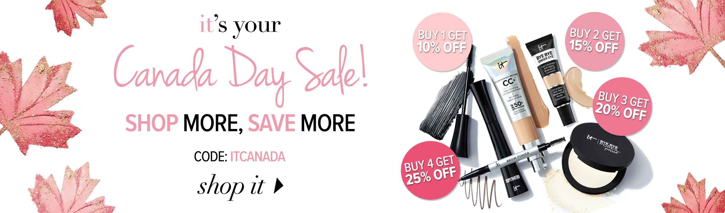 Latest add It Cosmetics Coupons