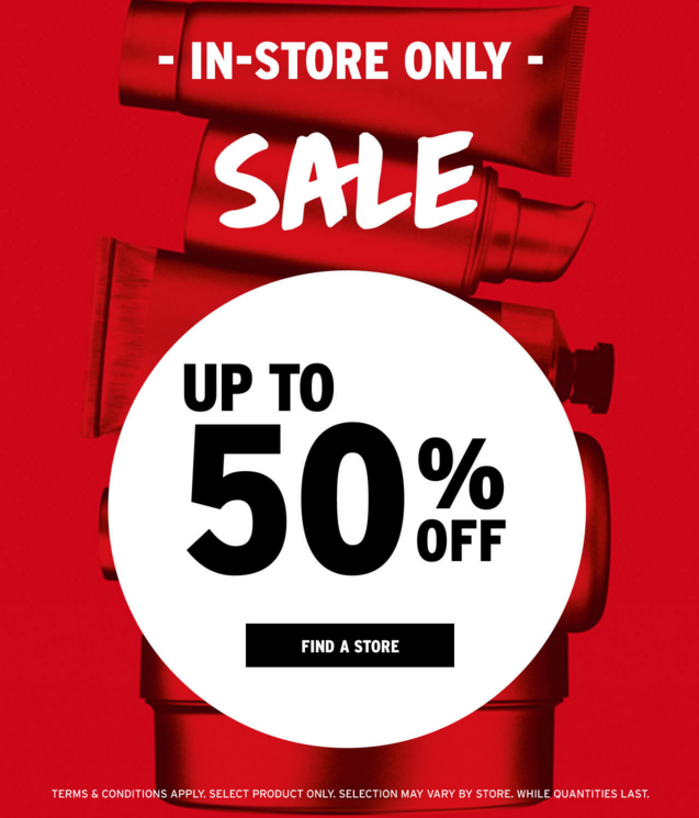 THE BODY SHOP CANADA: 2019 In-Store Boxing Day Sale