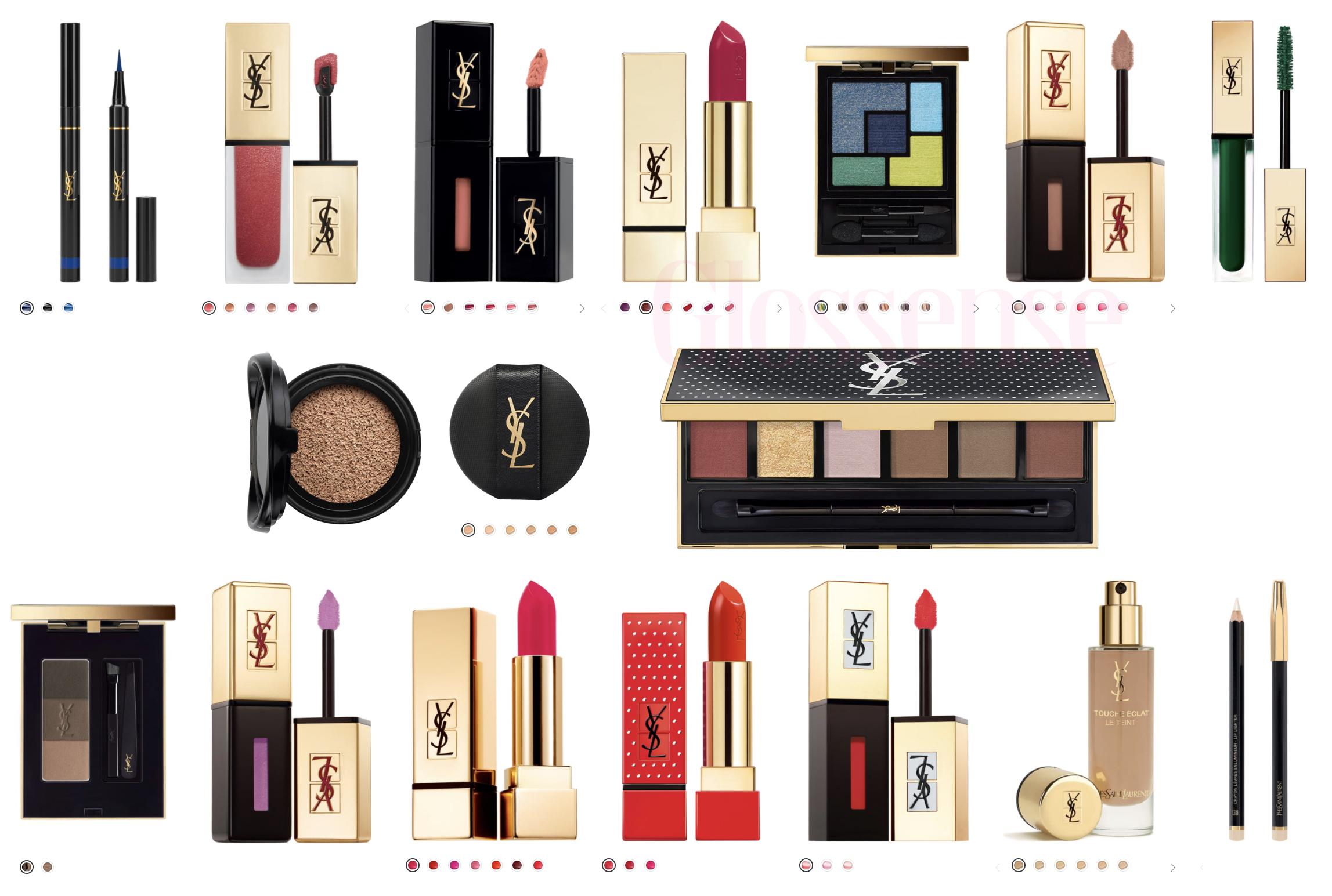 Off Yves Saint Lau Makeup