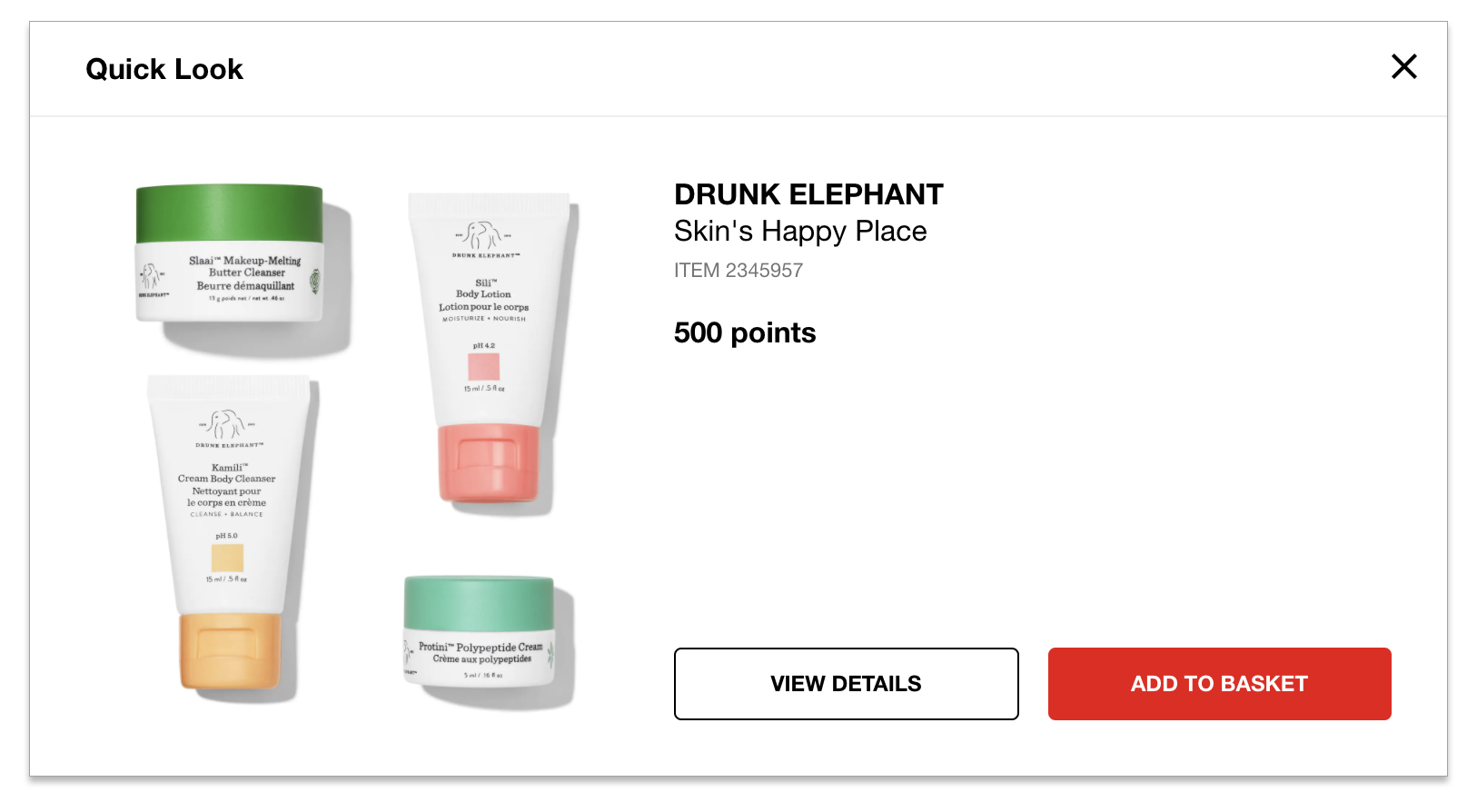 Sephora Canada New Reward Available Drunk Elephant Skin S Happy Place 4 Pc Set For 500 Points May 2020 Canadian Beauty Insider Rewards Bazaar
