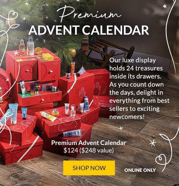 LOccitane Premium Holiday Advent Calendar