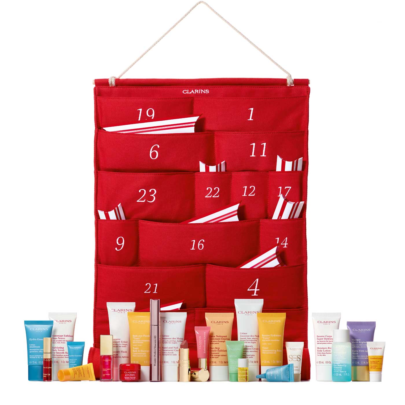 CLARINS & SHOPPERS DRUG MART CANADA: Clarins 24 Beauty Days Advent
